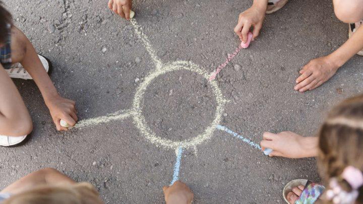 giochi per bambini da fare all'aperto