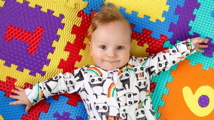 tappeto puzzle per bambini atossico